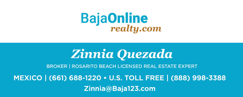 Zinnia Quezada - Rosarito Licensed Real Estate Agent