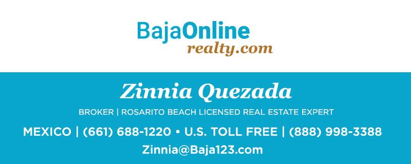 Zinnia Quezada - Rosarito Licensed Real Estate Agent