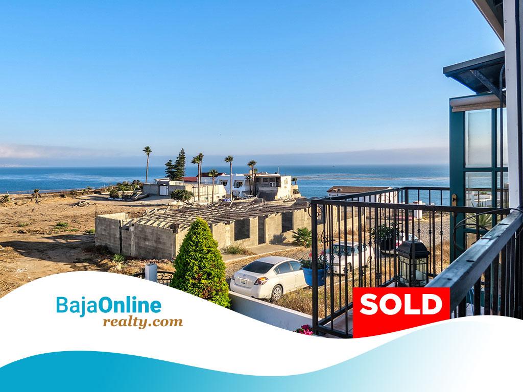 SOLD – Ocean View Home For Sale in Cantiles Dorados, Rosarito Beach