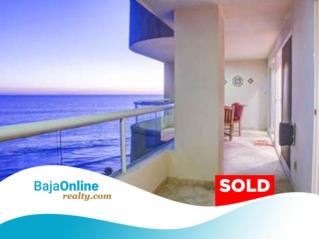 SOLD – Oceanfront Condo For Sale in La Jolla del Mar, Playas de Rosarito