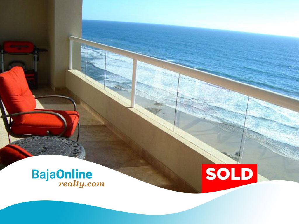 SOLD – Oceanfront Condo For Sale In La Jolla Del Mar, Rosarito Beach