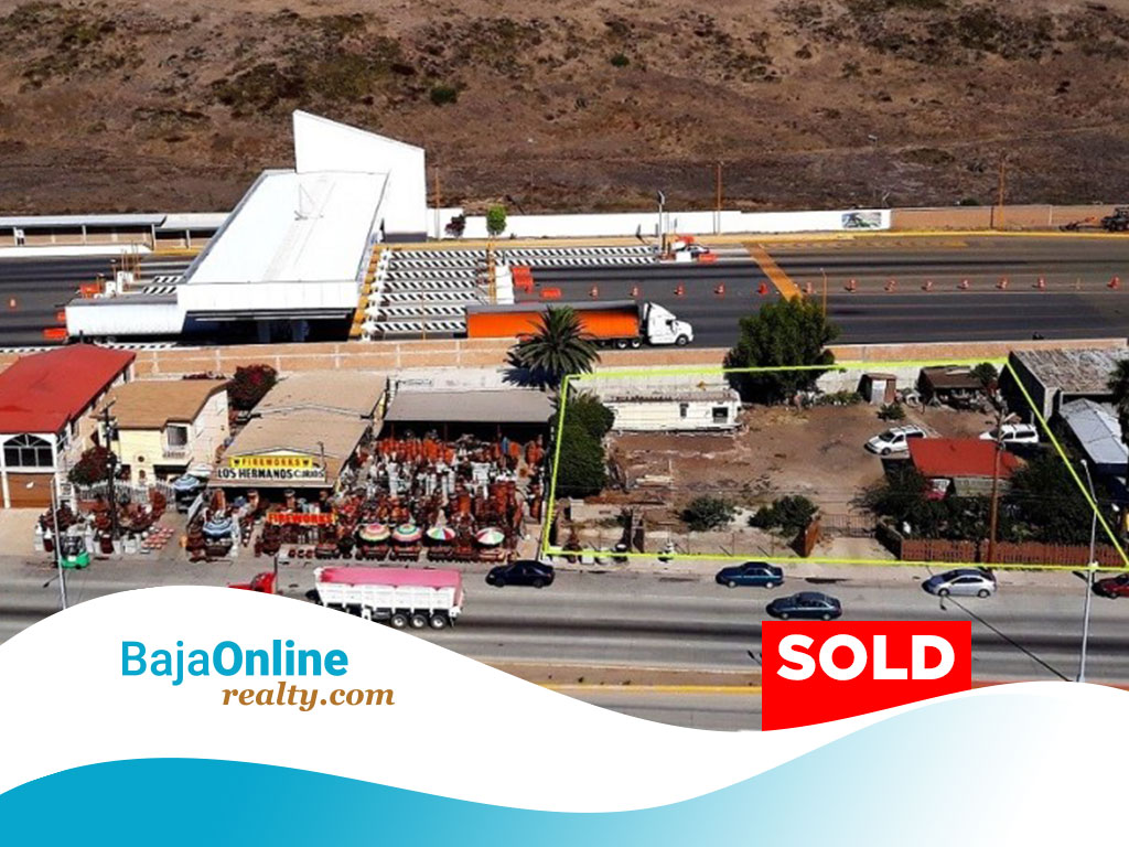 SOLD – Commercial Lot For Sale in Playas de Rosarito