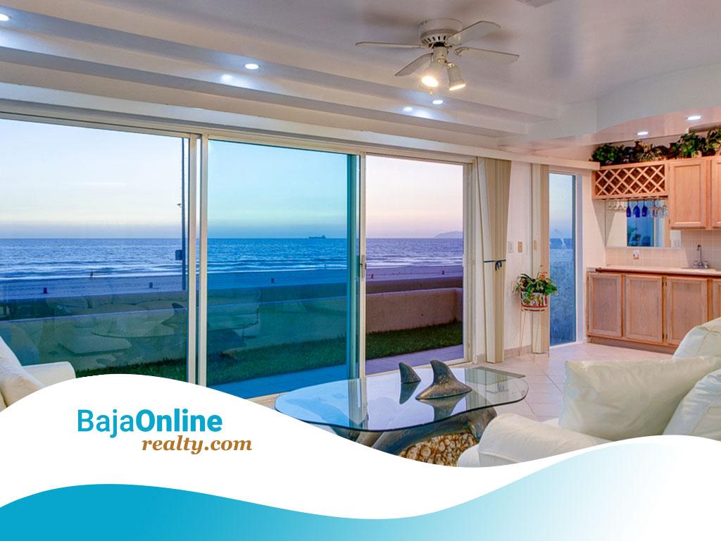 EXPIRED – Rosarito Beach Oceanfront Condo For Sale in Oceana – USD $295,000