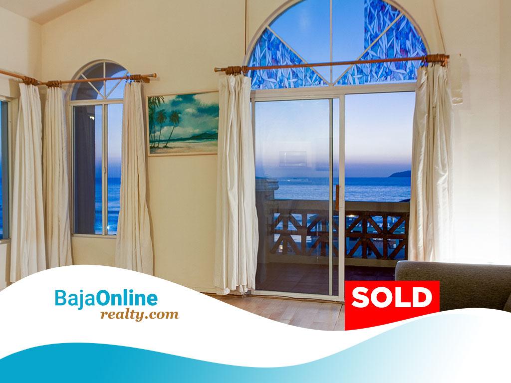 SOLD – Oceanfront Condo for Sale in Playa Blanca, Tijuana