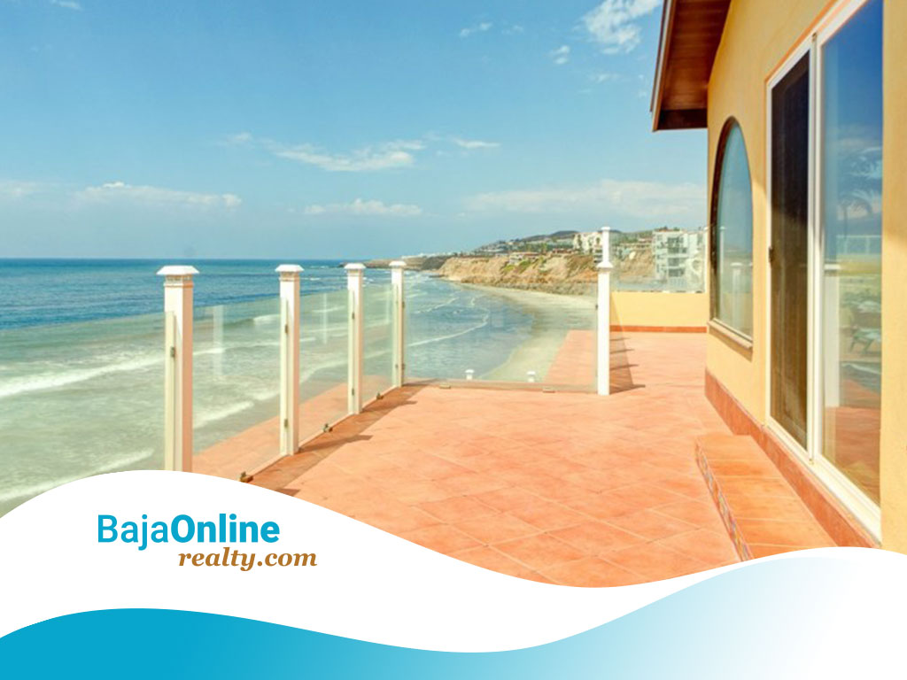 EXPIRED – Rosarito Beach Area Oceanfront Home For Sale San Antonio del Mar – USD $589,000