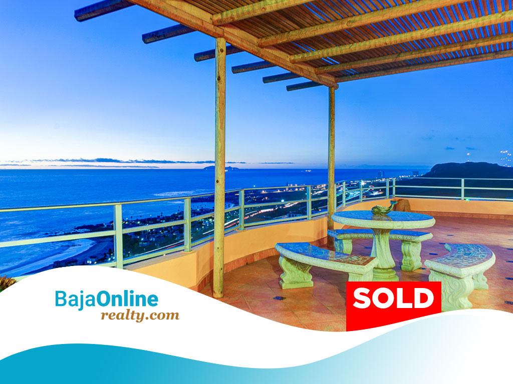 SOLD – Rosarito Beach Ocean View Home For Sale in Terrazas del Pacifico